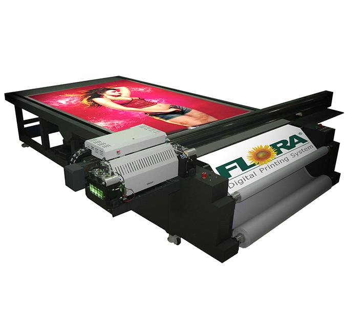 高精度UV平板宽幅数码喷绘机PP1816 UV 彩神UV板材打印机 北京天扬联合