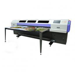 高精度UV平板宽幅数码喷绘机F1-250UV