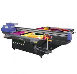 彩神Flora PP3220UV Turbo高精度高速UV平板喷绘机